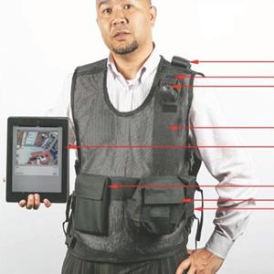 cctv tactical vest